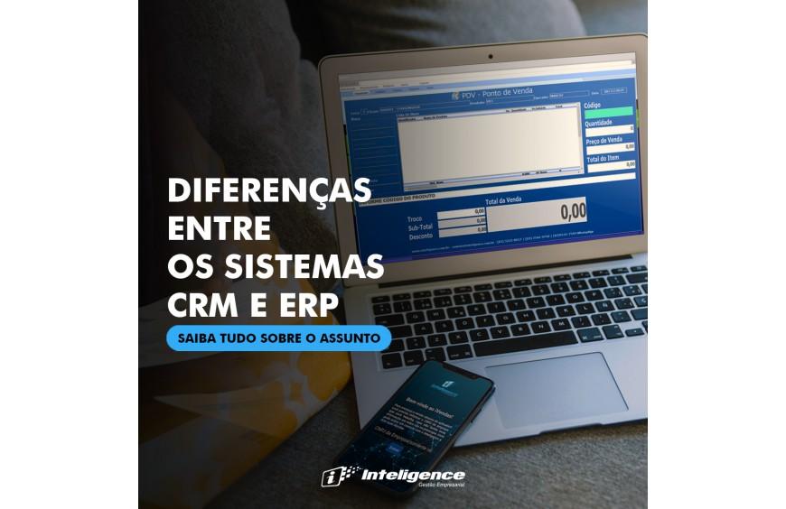 Diferenças entre os sistemas CRM e ERP