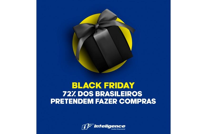72% dos brasileiros pretendem fazer compras na Black Friday