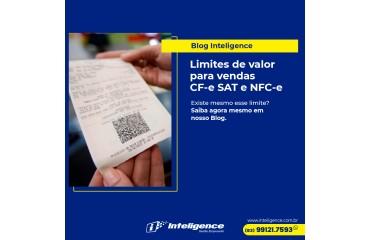Limites de Valor para Vendas CF-e SAT e NFC-e