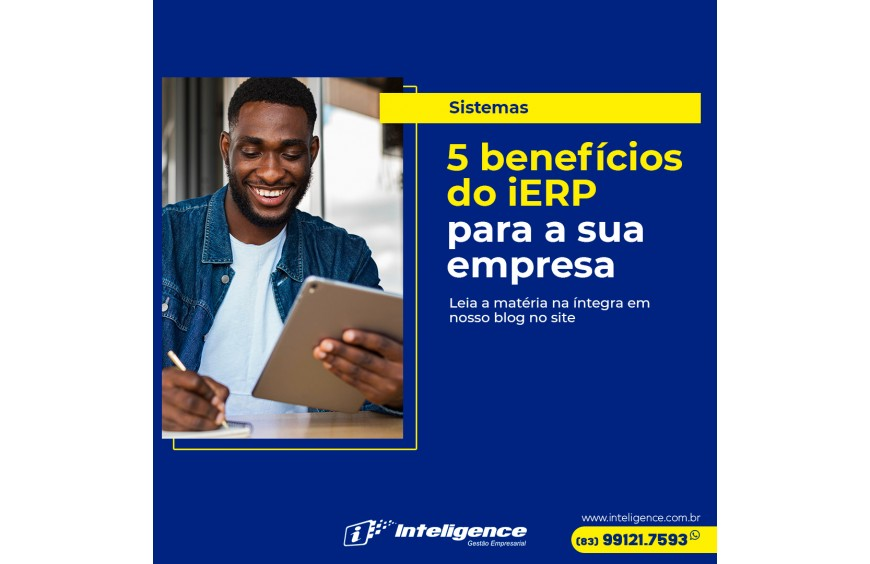 5 benefícios do iERP para a sua empresa